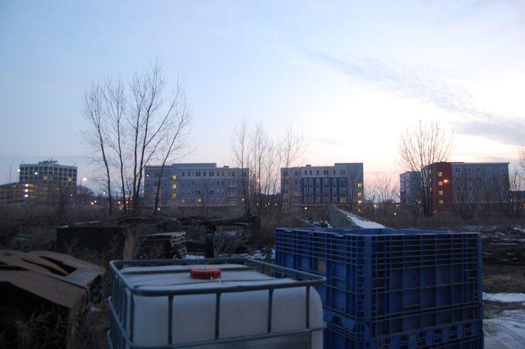 #urbanexploring #minneapolis #sunset