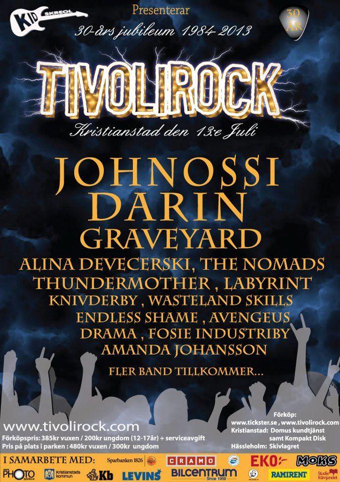 Endless Shame Live at Tivolirock 2013