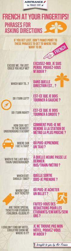 Welche Sätze du brauchst, um in #Paris klarzukommen.  #Whattodoinparis #französisch