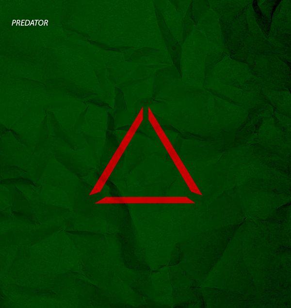 predator minimal poster