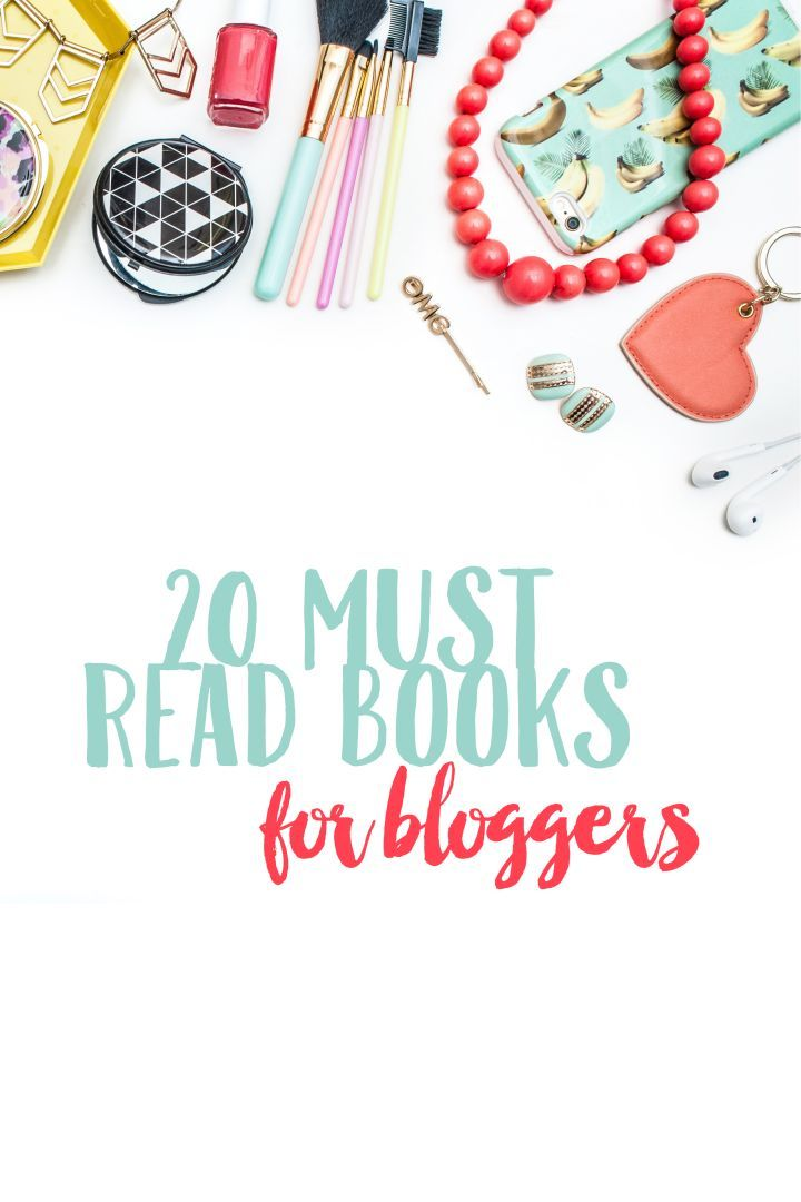 Add to the summer reading list. 20 Must Read Books For Bloggers: Read these productivity and social media books to boost your blog in a hurry.
