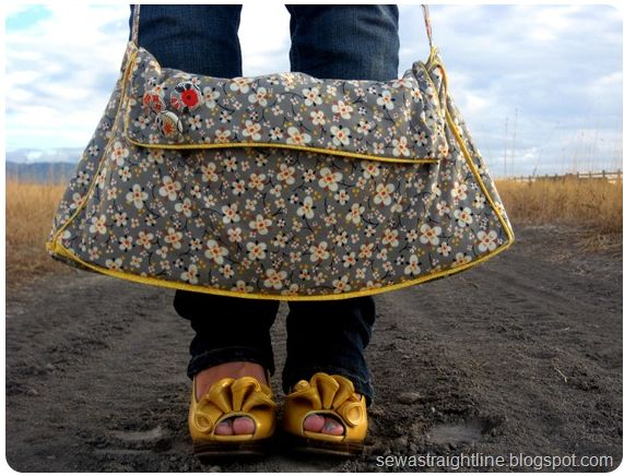 """Because I am too much woman for just a """"purse""""…"""