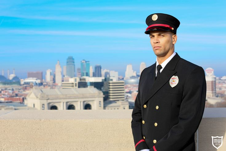 Firefighter classa uniform by marlow white view