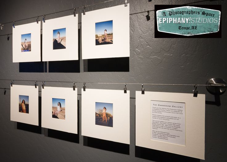 The Darkroom Gallery Is A Collection Analog Prints From Local Artists. For  January, Enjoy