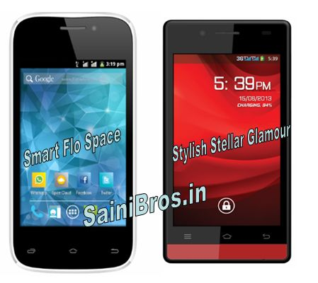HTC Zara and Spcie Smart Flo Space