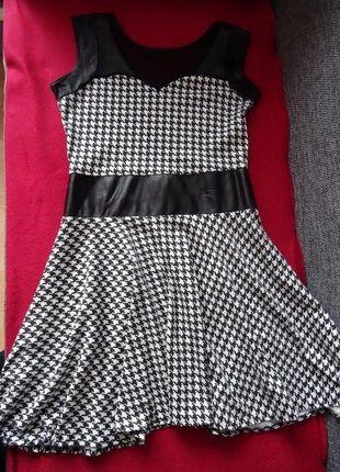 Kup mój przedmiot na #vintedpl http://www.vinted.pl/damska-odziez/krotkie-sukienki/9496078-czarno-biala-sukienka