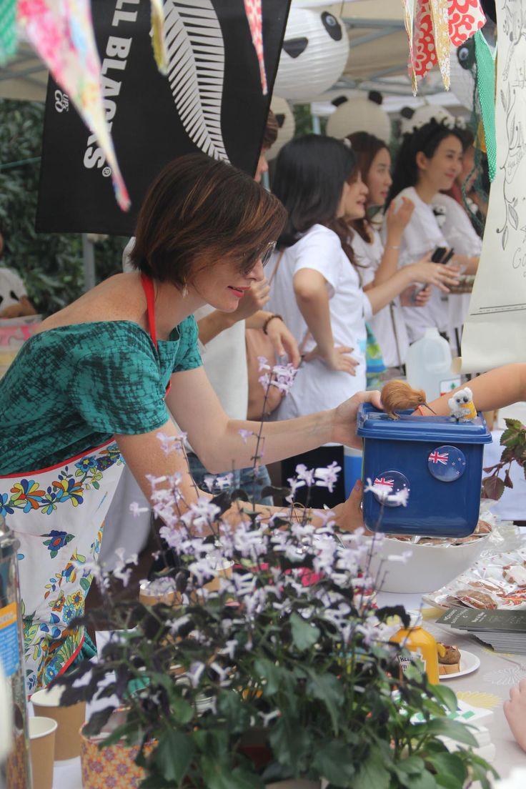 New Zealand Kiwis @Hongqiao's Int. Food Fair (Oct, 2015) #nzkiwis #scishongqiao #scis #IFF #shanghai