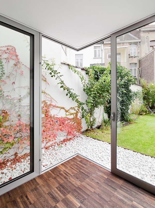 Sliding Door at Modern House Renovation and Extension Indoor-Outdoor Spaces by M Architecture