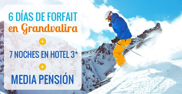 Ofertas esquí Andorra, España y Francia - Esquiades.com