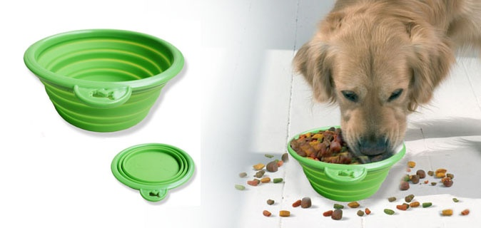 4 Expandable Travel Pet Bowls| Free Shipping - Pet Coupons, Pet Deals, Cheap Pet Supplies Online - PETching.com