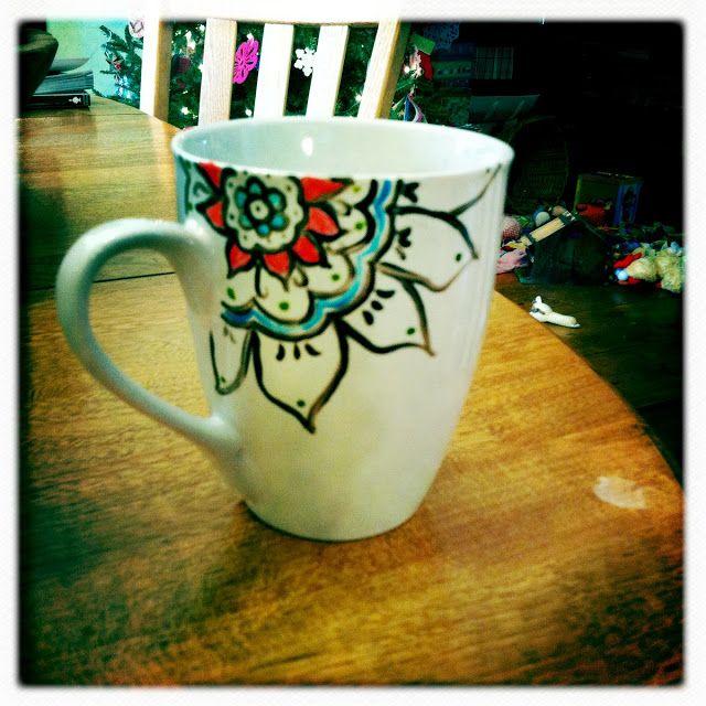 Resultado de imagen de zentagling a mug