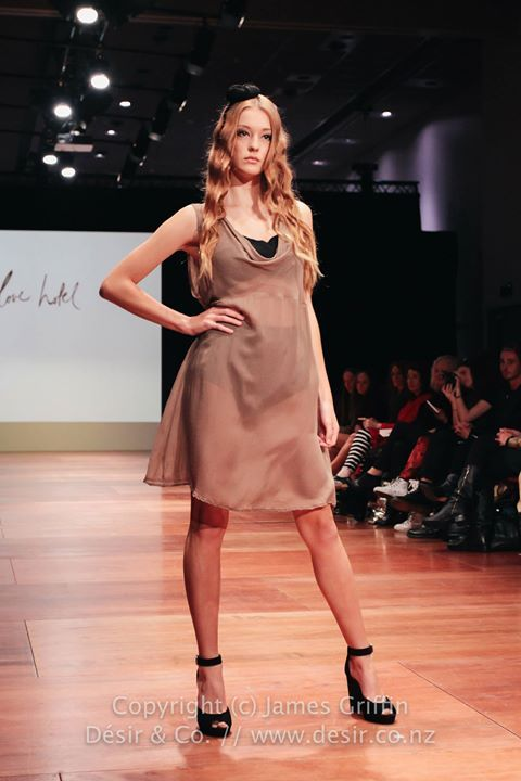 Jane Pinafore Dress at Wellington Fashion Week 2014. Spring Summer 2014  www.lovehotel.co.nz