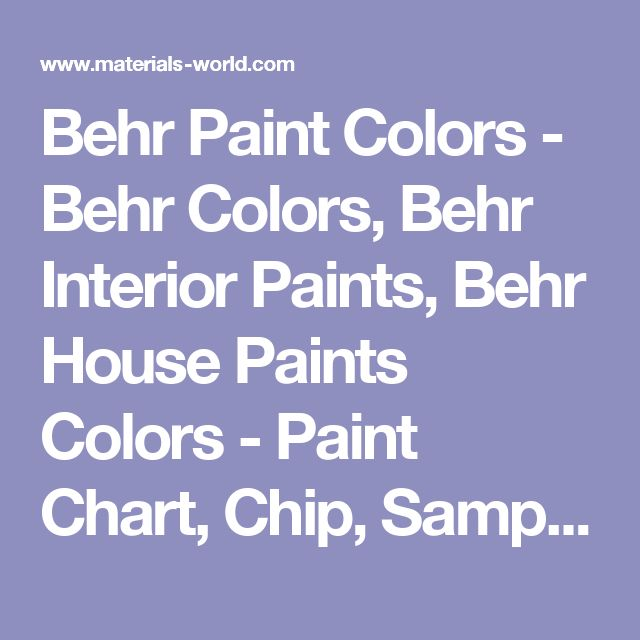 The 25+ best Behr paint colors chart ideas on Pinterest Home - chart samples