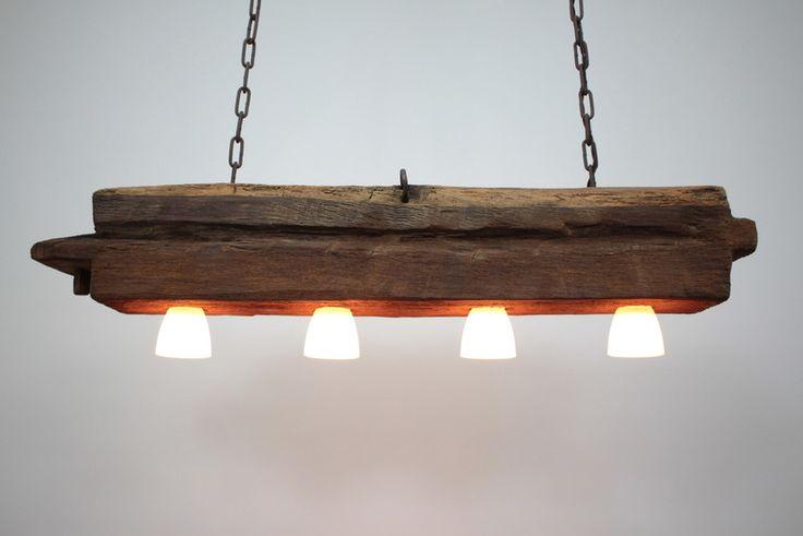 die besten 25 lampen aus altem holz ideen auf pinterest altholz projekte alte holz projekte. Black Bedroom Furniture Sets. Home Design Ideas