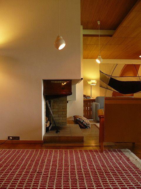 Maison louis carr alvar aalto interior design for Alvar aalto maison