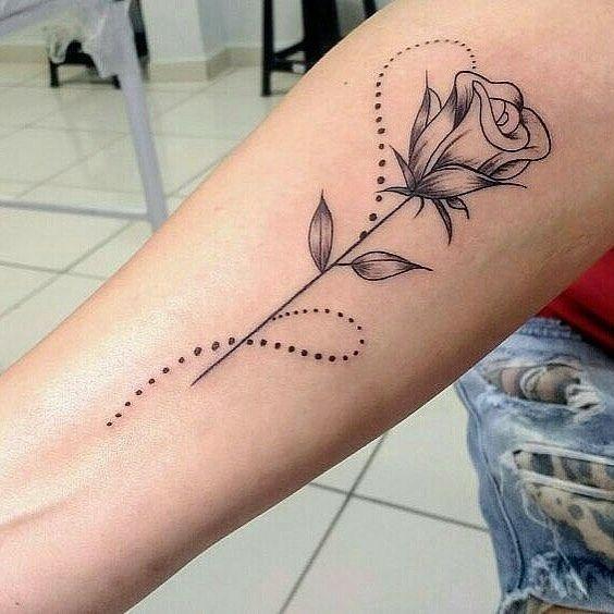 52 idées uniques de tatouage de Rose – idées de tatouage – #unique #Idées #Rose …   – Super Cool Tattoos