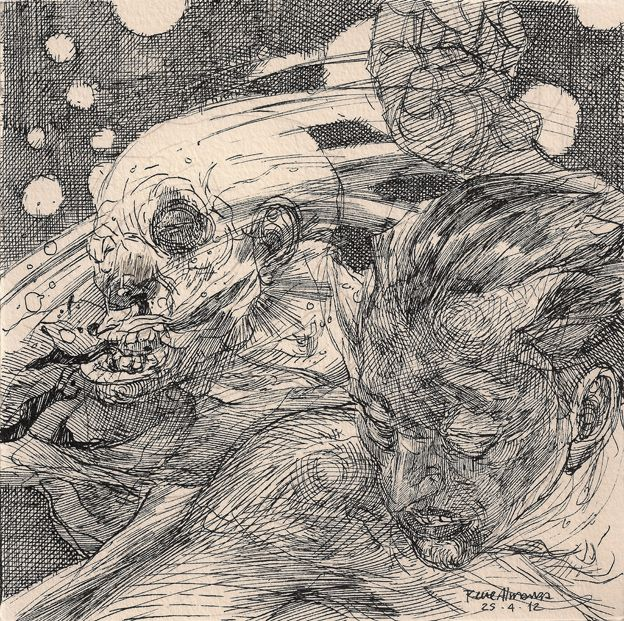 renee almanza, one of my favorite illustrators.