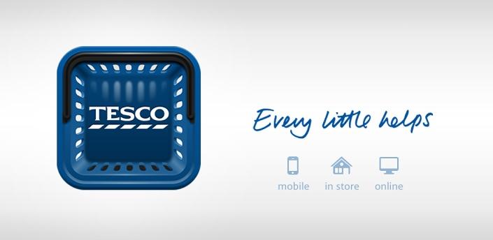 Tesco - Aplikace pro Android ve službě Google Play.  Pěkná čtvercová ikonka košíku. Jak některé ikony nevypadají ve čtvercové podobě pro aplikace dobře tak tohle mě po čase zase potěšilo. Ikdyž košík čtvercový není, tohle se mi moc líbí.