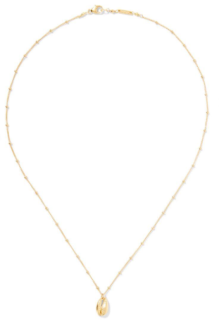 Chan Luu | Gold-plated necklace | NET-A-PORTER.COM