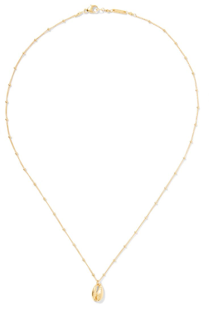 Chan Luu | Gold-plated necklace | NET-A-PORTER.COM