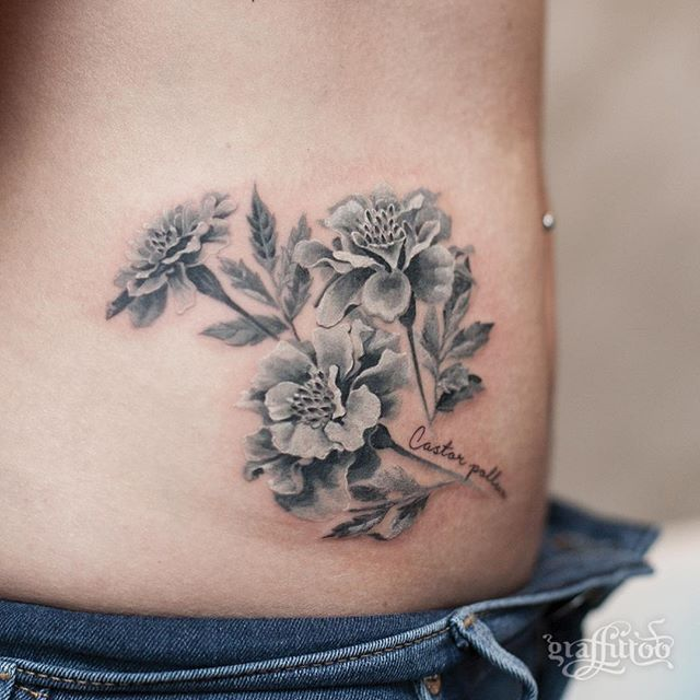 1000 ideas about marigold tattoo on pinterest tattoos for Birth flower october tattoo
