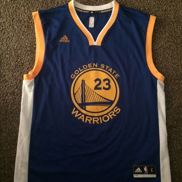 Warriors - Draymond Green Jersey Warriors - Draymond Green Replica Jersey - Authentic Adidas Tops