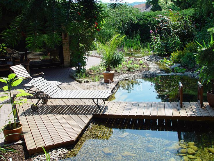 17 Best Images About Natural Swimming Pools Ponds And Water Stuff On Pinterest Backyard Ponds
