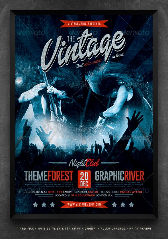 178 Best Flyer Poster Design Images On Pinterest Poster