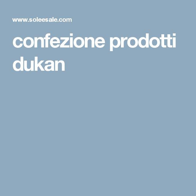 confezione prodotti dukan