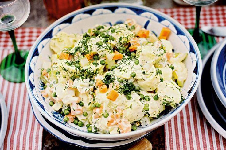 Kijk wat een lekker recept ik heb gevonden op Allerhande! Frisse aardappelsalade