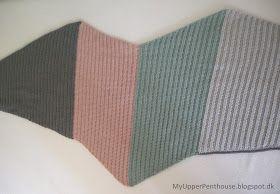 MyUpperPenthouse: 'Seagull Cotton' sjal/tørklæde Ala vinkelsjal