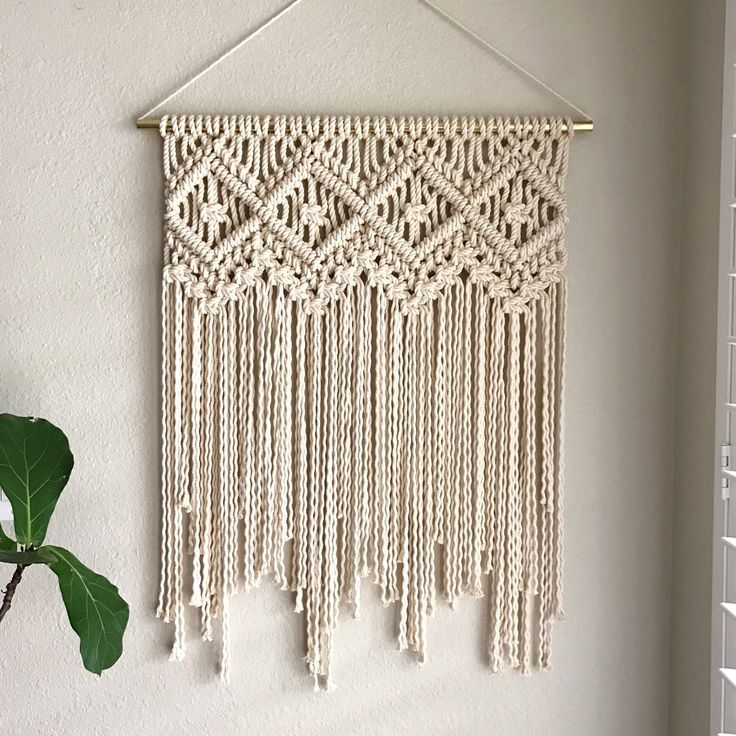 320 best MACRAME WALL HANGING images on Pinterest ...