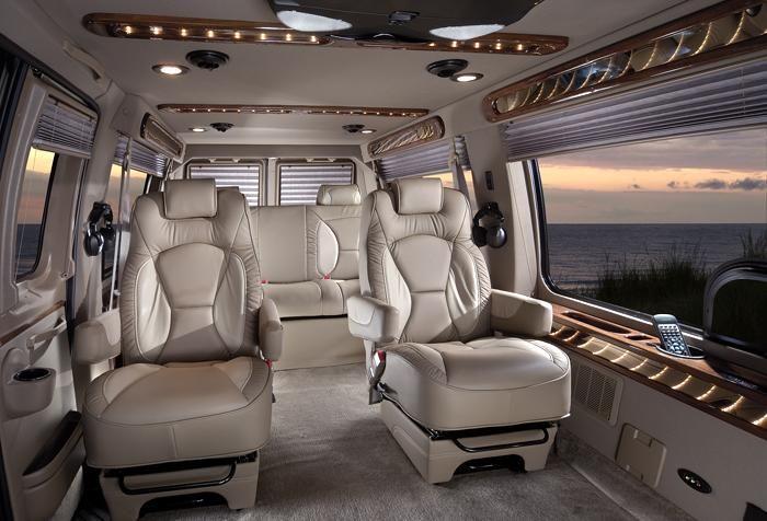 Luxury Vans: Custom Sprinter Van Conversions