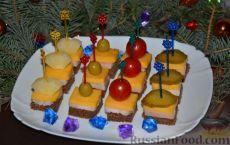 Бутерброды на Новый год - 30 рецептов с фото