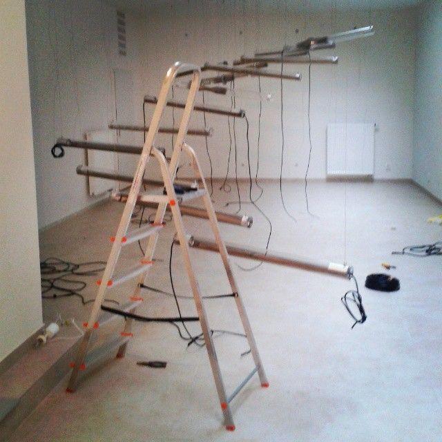 Instalation  #lightislive #glassislife #penocze #glassimo #exhibition