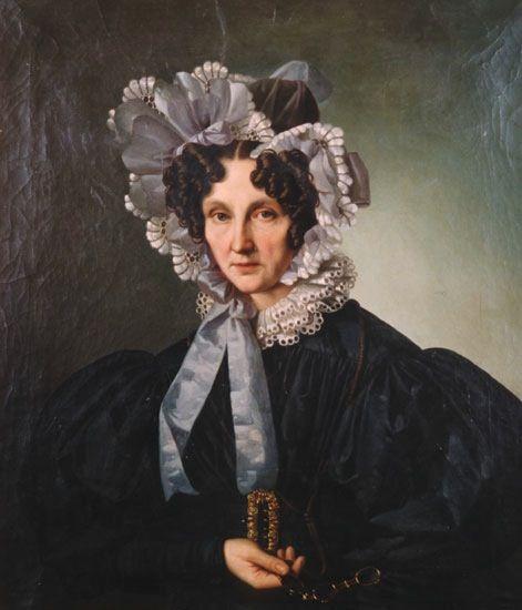 Giuseppe Tominz 1835 Fanny Herzog de Toppo by Giuseppe Tominz private