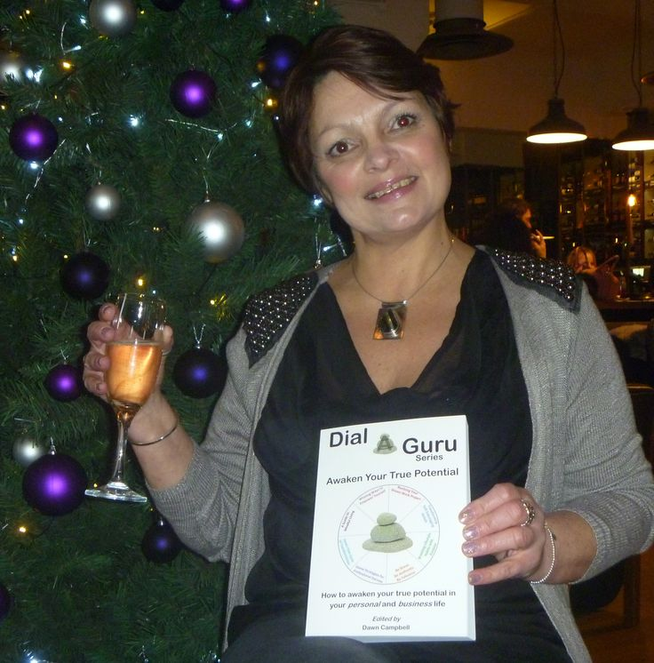 Birthday Girl Wendy Fry also celebrating Awaken Your True Potential The first in the series of Dial a Guru, self help personal and business books http://dialaguru.eu/2015/11/30/dial-a-guru-birthday-girl-wendy-fry-celebrating-with-her-copy-of-awaken-your-true-potential/