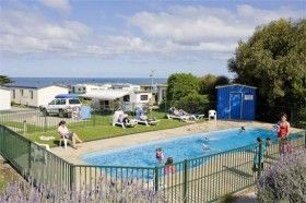 heated-swimming-pool. camp kitchen, games room, heated swimmin pool, adventure playground, family bathroom #big4apollobaypiscesholidaypark #greatoceanroad #apollobay #camping #caravanning
