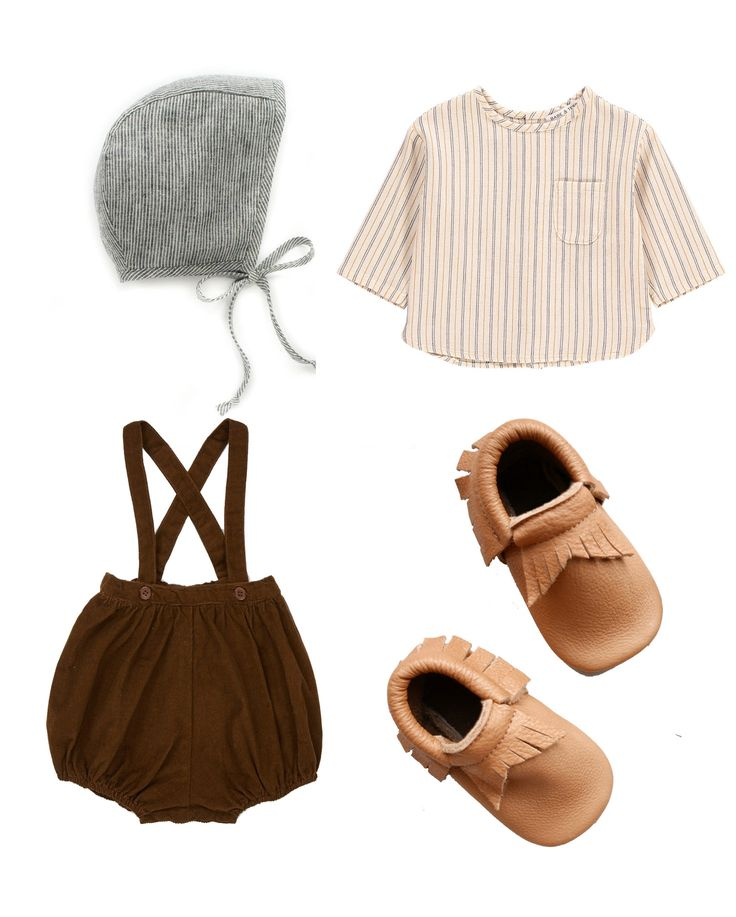 baby moccasins, baby bonnet