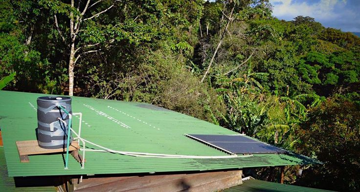 Passive Solar Heating: Solar Thermal Energy for Hot Water: Passive System on Roof