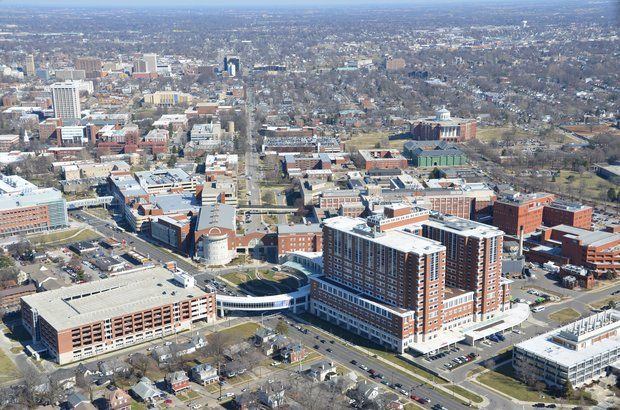 Livability.com ranks Lexington, KY as the #5 College Town!  Aerial - University of Kentucky. We think it's #1!