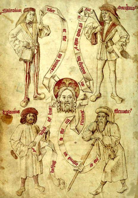 Greek Medicine: THE FOUR TEMPERAMENTS
