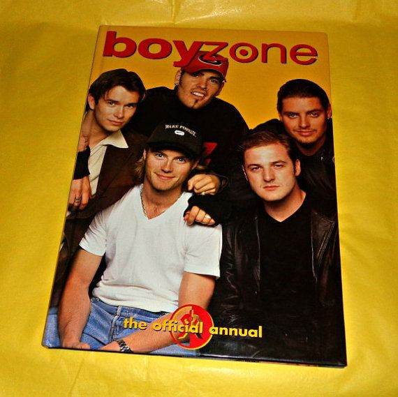 Boyzone Official Annual Music Memorabilia Book by WelshGoatVintage