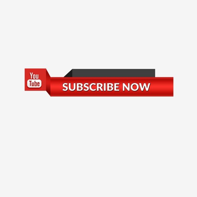 Youtube Subscribe Button Icon Lower Third Subscribe Youtube