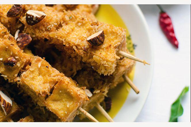 Thai tofuspett - Frasiga tofuspett med smak av asiatiska mattraditioner.