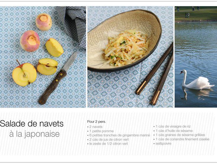 Salade de Navets à la japonaise