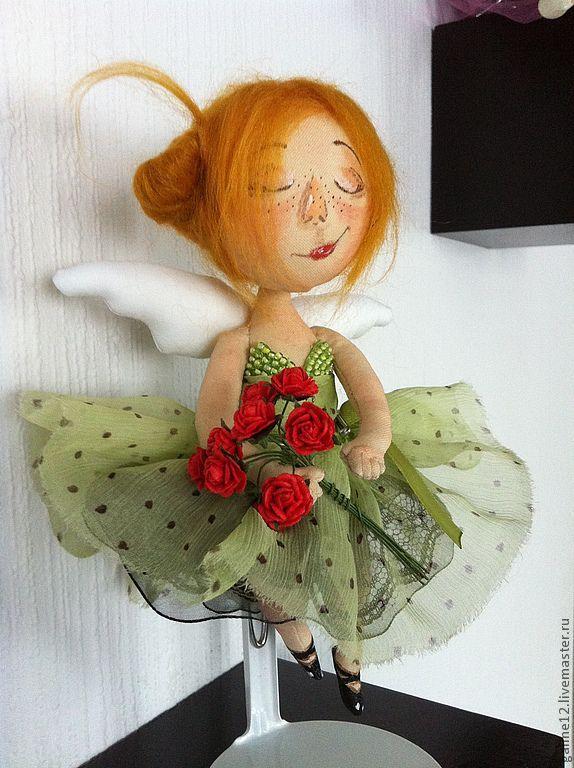 Купить Оксанина премьера - рыжий, балерина, предмет интерьера, Праздник, подарок женщине, рыжая девочка