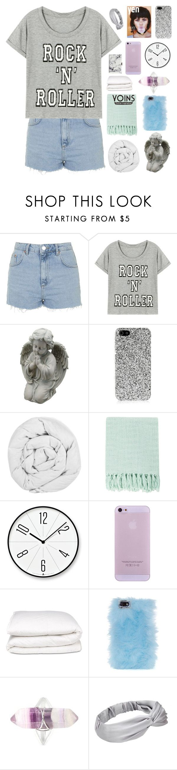 """""""it's logical ✧ yoins 23"""" by dont-go-to-sleep ❤ liked on Polyvore featuring Topshop, Yves Saint Laurent, The Fine Bedding Company, Surya, Lemnos, Selfridges, Skinnydip, Balenciaga, vintage and women's clothing"""