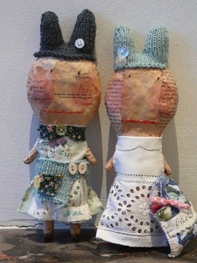 Julie Arkell's paper mache dolls are such a favourite