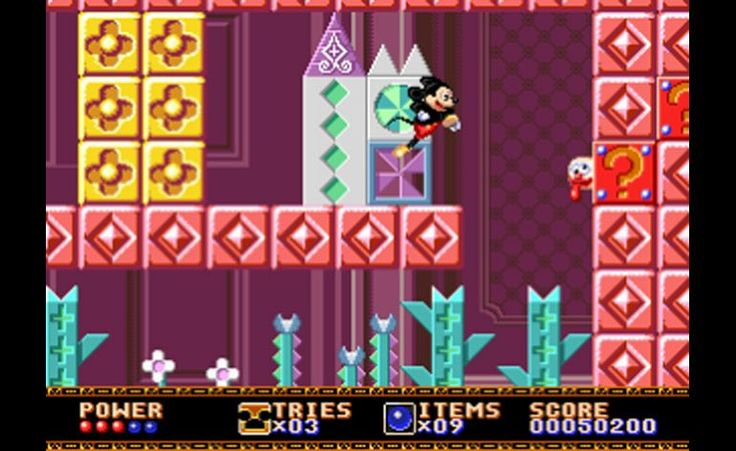 Play Mickey Mouse - Castle Of Illusion + Gameplay in 1 Minute